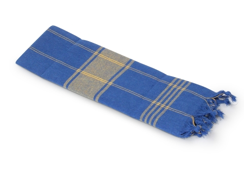 Saunatuch Saunakilt Classic Deux Blau Gelb